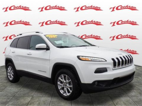 PRE-OWNED 2017 JEEP CHEROKEE LATITUDE 4WD